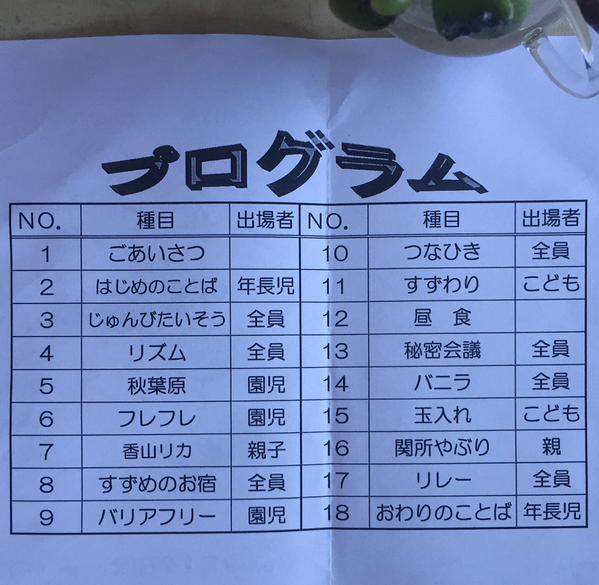 幼稚園の運動会が謎の競技だらけ。秘密会議。香山リカ。 RT:鍵さんの画像 http://t.co/wbBbjFRRIK
