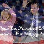 MT @cindiperez48: I want a First Family that Loves America! TED CRUZ 2016! #WakeUpAmerica http://t.co/32FvlEadQC #CruzCrew #PJNET