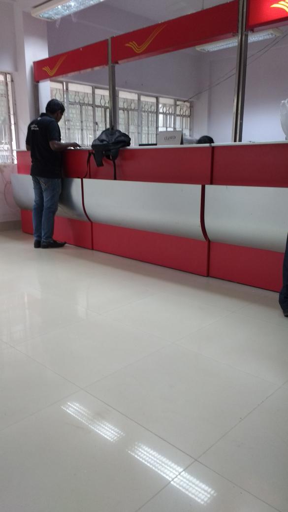All set for banking.. Looks neat. #IndiaPost http://t.co/ebrIqJ9VDk