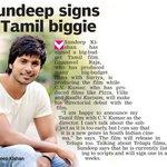 RT @Allupdatez: Sundeep signs a tamil biggie @sundeepkishan @vijayvyoma --> http://t.co/no24LUdJep