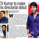 RT @Allupdatez: @vijayvyoma to make his directorial debut @sundeepkishan --> http://t.co/RSyC8BwKaq