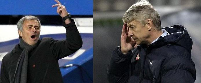 This Man Mou Mourinho Brands Wenger A Moaner As Chelsea Defeat Arsenal