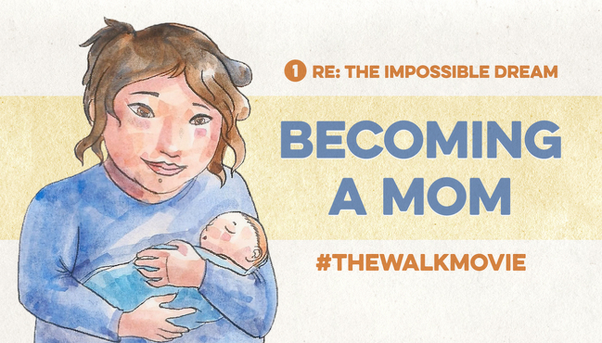 RT @hitRECord  We made a short film about a young woman's dream of being a mom - http://t.co/ZWXFMjFzrZ #TheWalkMovie http://t.co/zLelBxk3qX