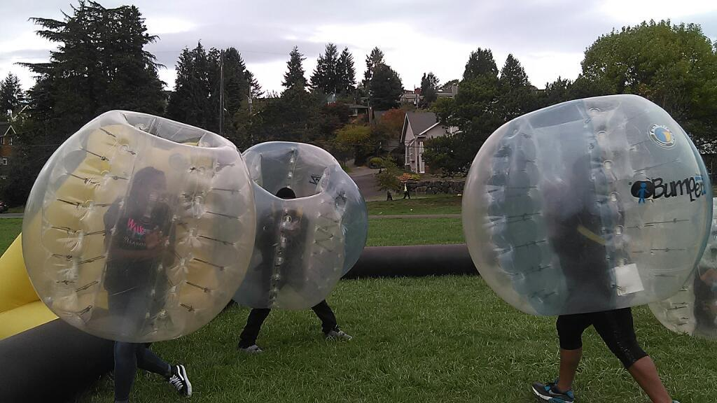 Playing in the Funballz court at the Walk Away Day Event! http://t.co/s2vpA1BQBR