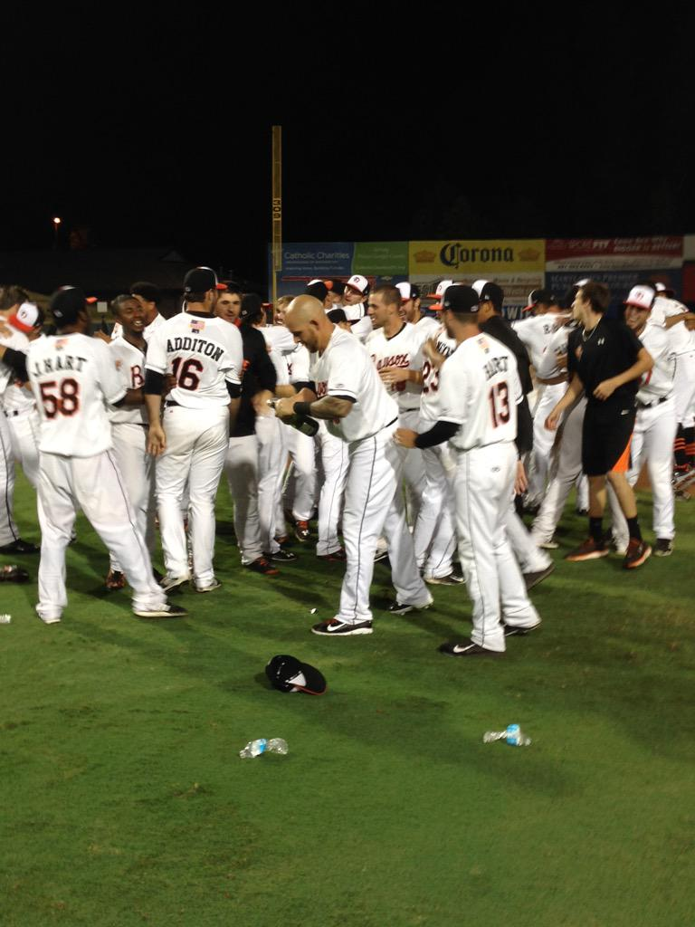 The 2015 Bowie Baysox are your Eastern League Champions! #BringHometheBAYcon http://t.co/l0VwnuZ2vz