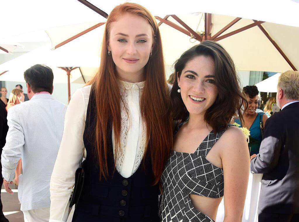 .@SophieT and @isabellefuhrman. #TVTea http://t.co/02Oza4ShDr