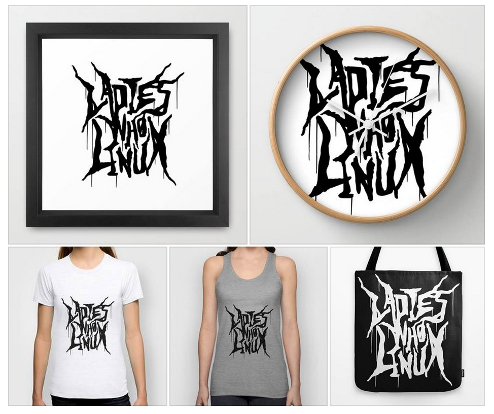 We have a ton of awesome merch now up for @ladieswholinux. Even more coming soon <3 https://t.co/DjGy7T6Bzt http://t.co/GYbXmGpl13