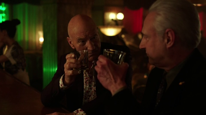 A nice moment between two old friends on last night's @BluntTalk_Starz http://t.co/5DdKFwQ7cq