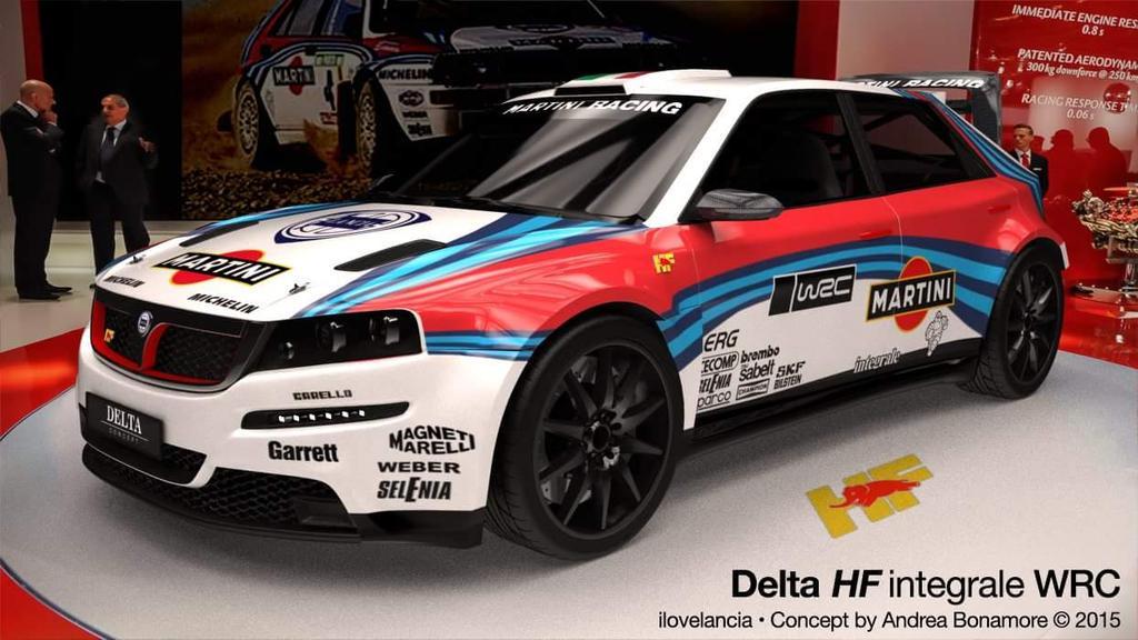 #WRC Lancia Delta HF integrale Wrc concept at Francfort Motorshow #photo http://t.co/u2pSQKY7sw