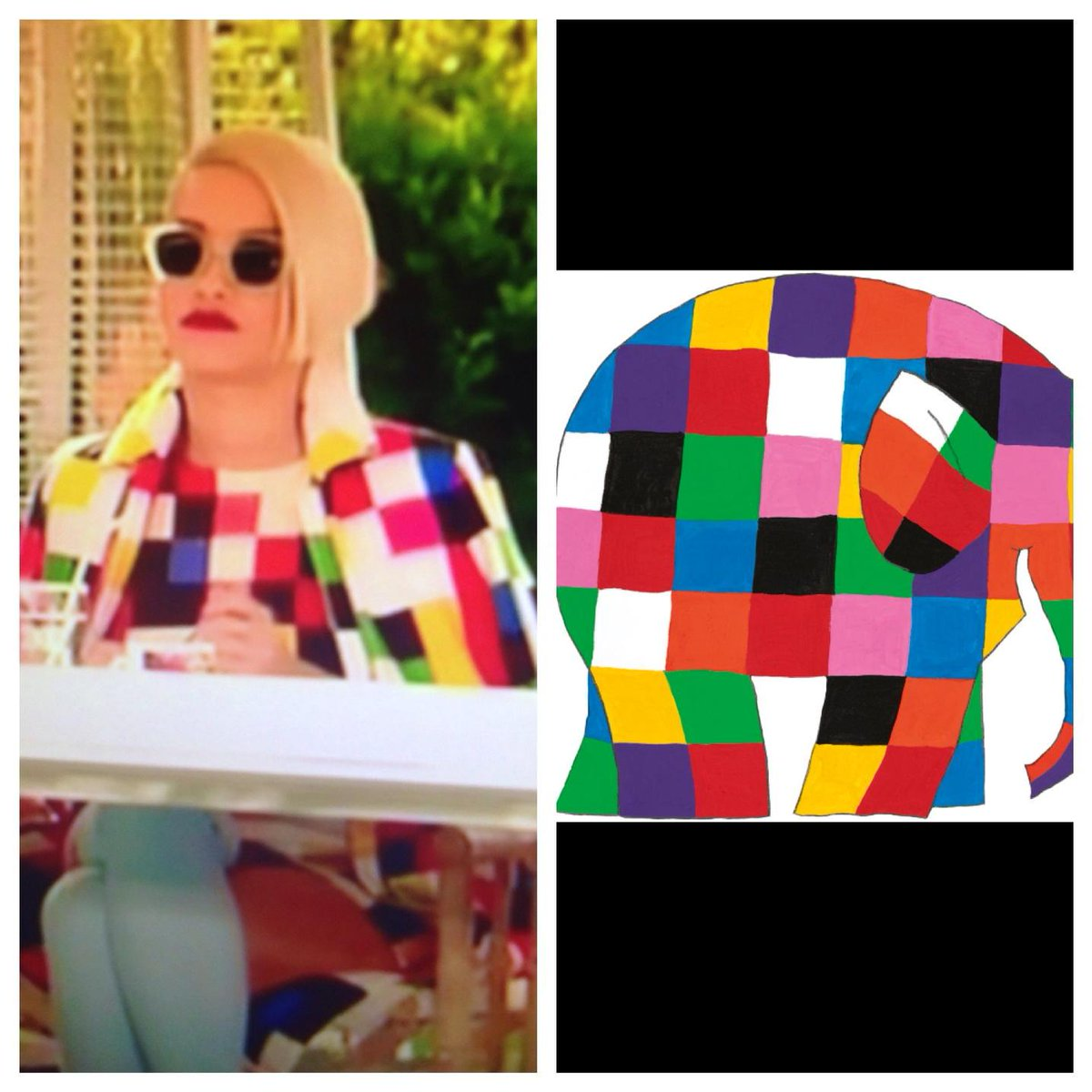 Is it just me or does Rita Ora look like Elmer? #Xfactor http://t.co/J6sDxfBj2C