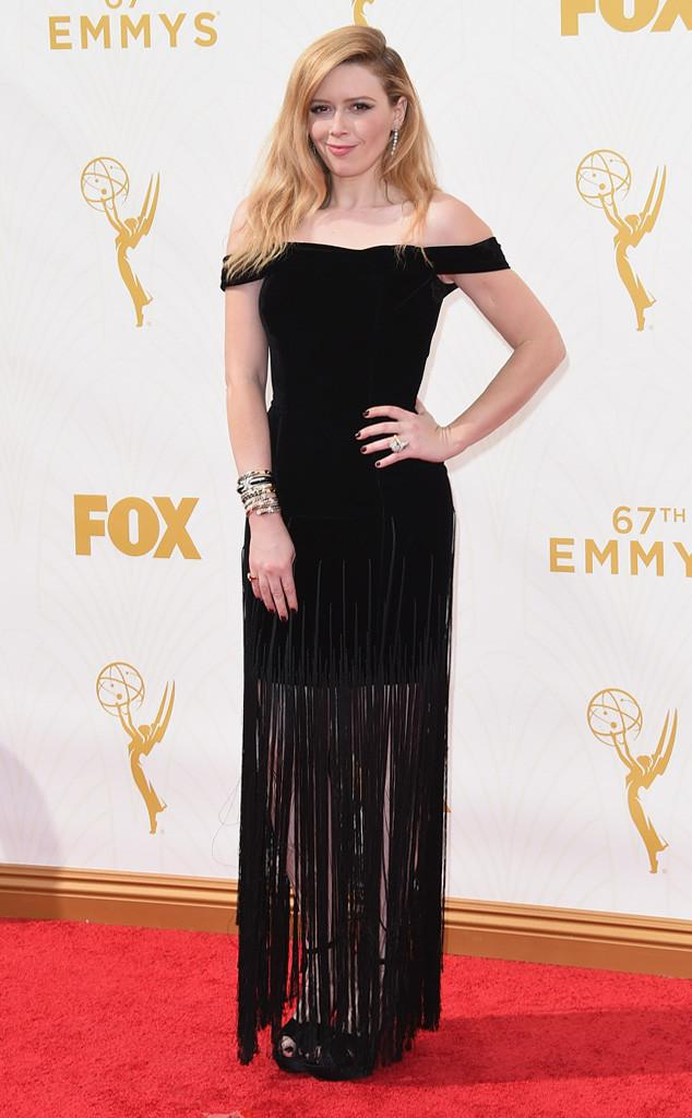 Do you think Natasha Lyonne nailed this fringe gown? #Emmys2015 http://t.co/7PTzhet84u