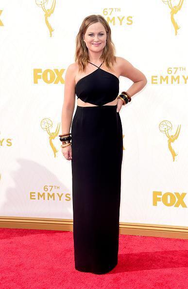 Fire on the red carpet #AmyPoehler @laurenlapkus @chelseaperetti @evilhag #Emmys http://t.co/XnQfkTwWA6