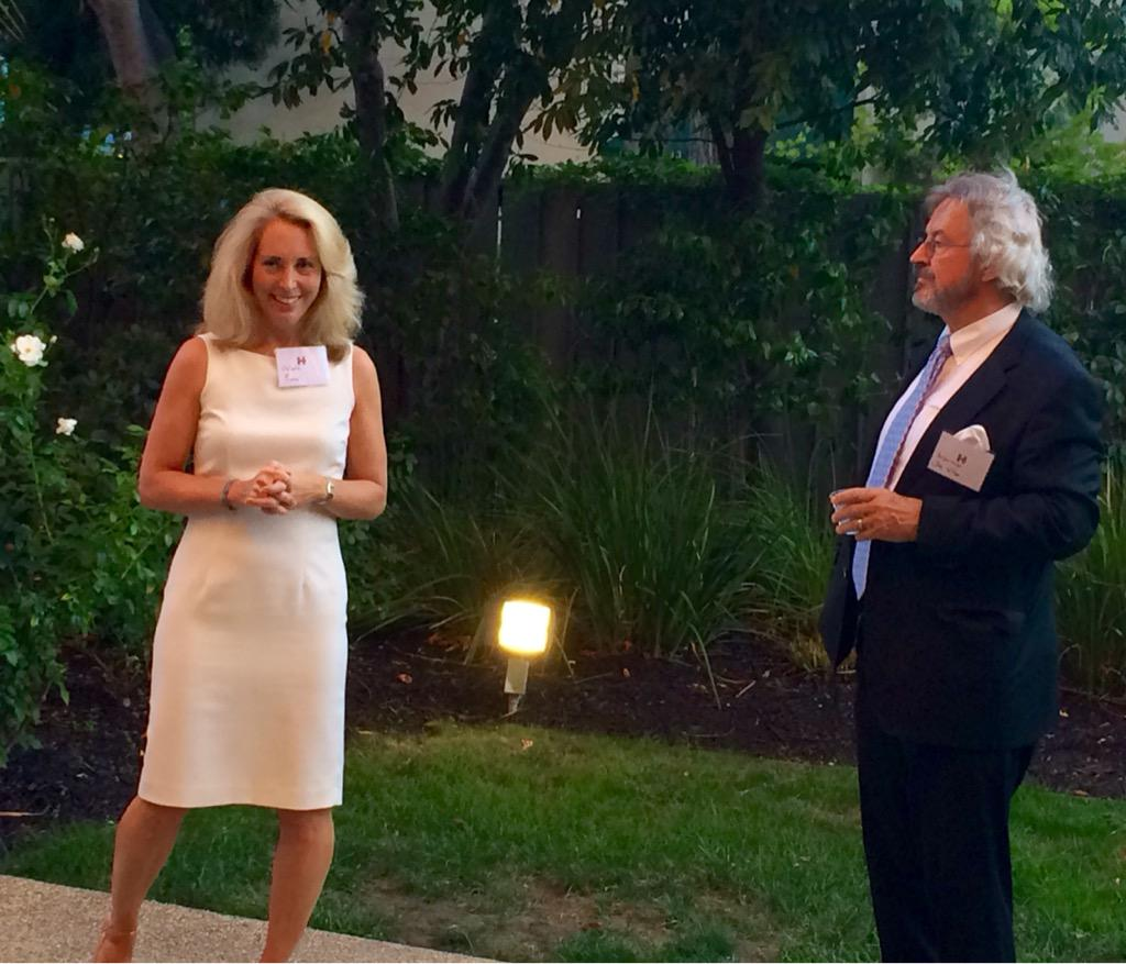 Compelling reasons to support @HillaryClinton -listening to exposed CIA agent @ValeriePlame and Ambassador Joe Wilson http://t.co/7JNdUrVIXl