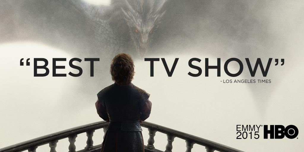 Congratulations to the entire @GameOfThrones cast and crew for their Best Drama Series #Emmys win tonight.