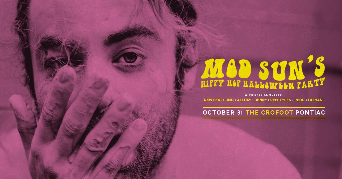 RETWEET for a chance to win 2 tickets to @MODSUN's Hippy Hop Halloween Party at @TheCrofoot! http://t.co/uv71ZdgM5N http://t.co/ezIw5i8Znw