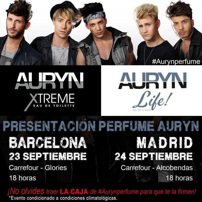 Ven a la firma de perfumes @AurynOficial Mier 23, Glorias Barcelona Jue 24, Alcobendas @saphirparfums #AurynPerfumes http://t.co/gxRYqLbDup