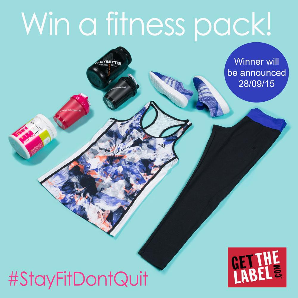 We've teamed up with @Biosynergy to offer you a fab fitness pack! RT / Quote #StayFitDontQuit for your chance to win! http://t.co/dL45kKUjA7