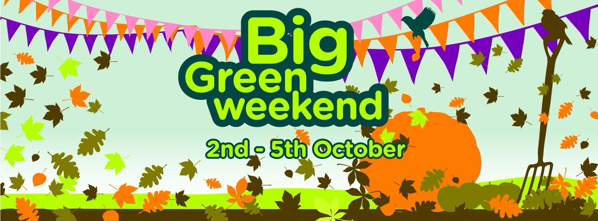 From conservation to family fun days, #JoinInFeelGood at this year's #BigGreenWeekend 2-5 Oct http://t.co/0b74INn1Nz http://t.co/pm2PQNkenU