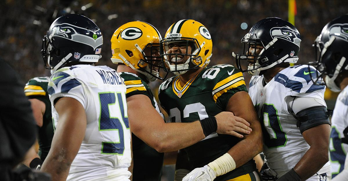 online bettting packers seahawks over under
