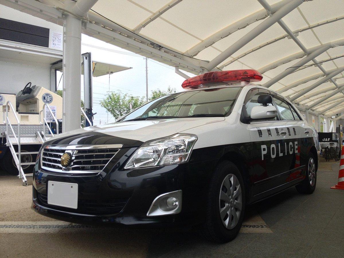 車種違うけど同じ静岡県警のなにそれカー。警告灯がグリル内蔵。 http://t.co/TexYZepQqV