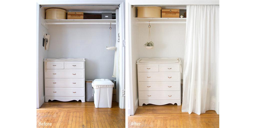 Check out @readtealeaves to see how our #Natura paint brought new life to her #closet space: http://t.co/5L41IPUtRM http://t.co/B7M6P5UIVG