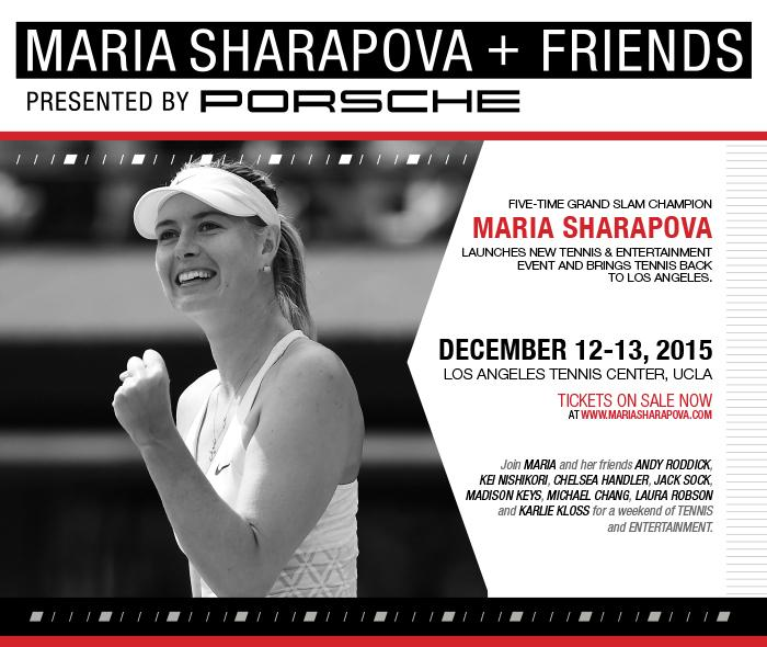Tickets for #MariaAndFriends presented by @Porsche at @UCLA Dec 12-13, on sale NOW Get them @ http://t.co/JLMWOstuCz http://t.co/ukVcWJ05TC