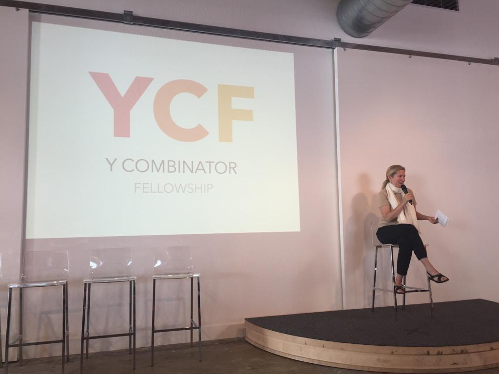 The first batch of YCF kicks off today! @foundersatwork talking to the fellows: http://t.co/1zqNtdA8LS