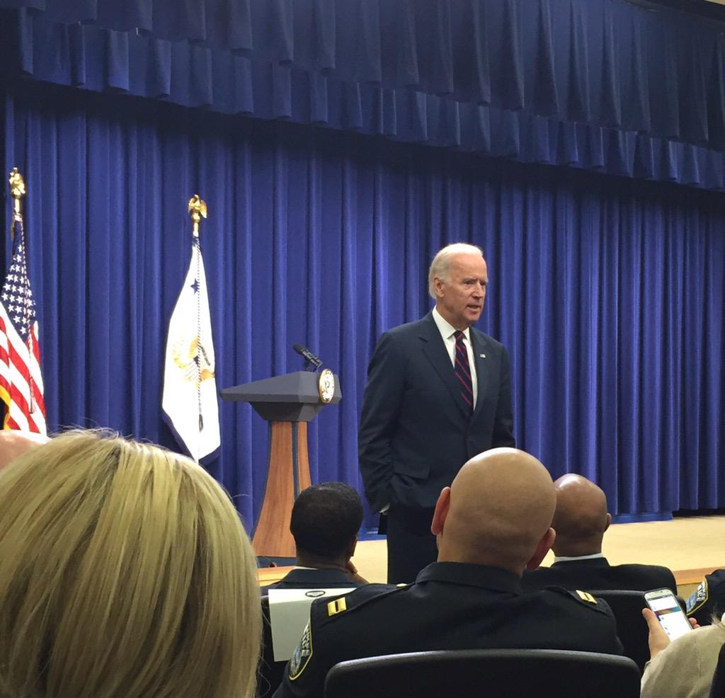 """I see you.""  Many thx to @VP Biden for inspirational kickoff to #WHChamps w @realtuffjuice @ymca http://t.co/6ccvghU5KS"