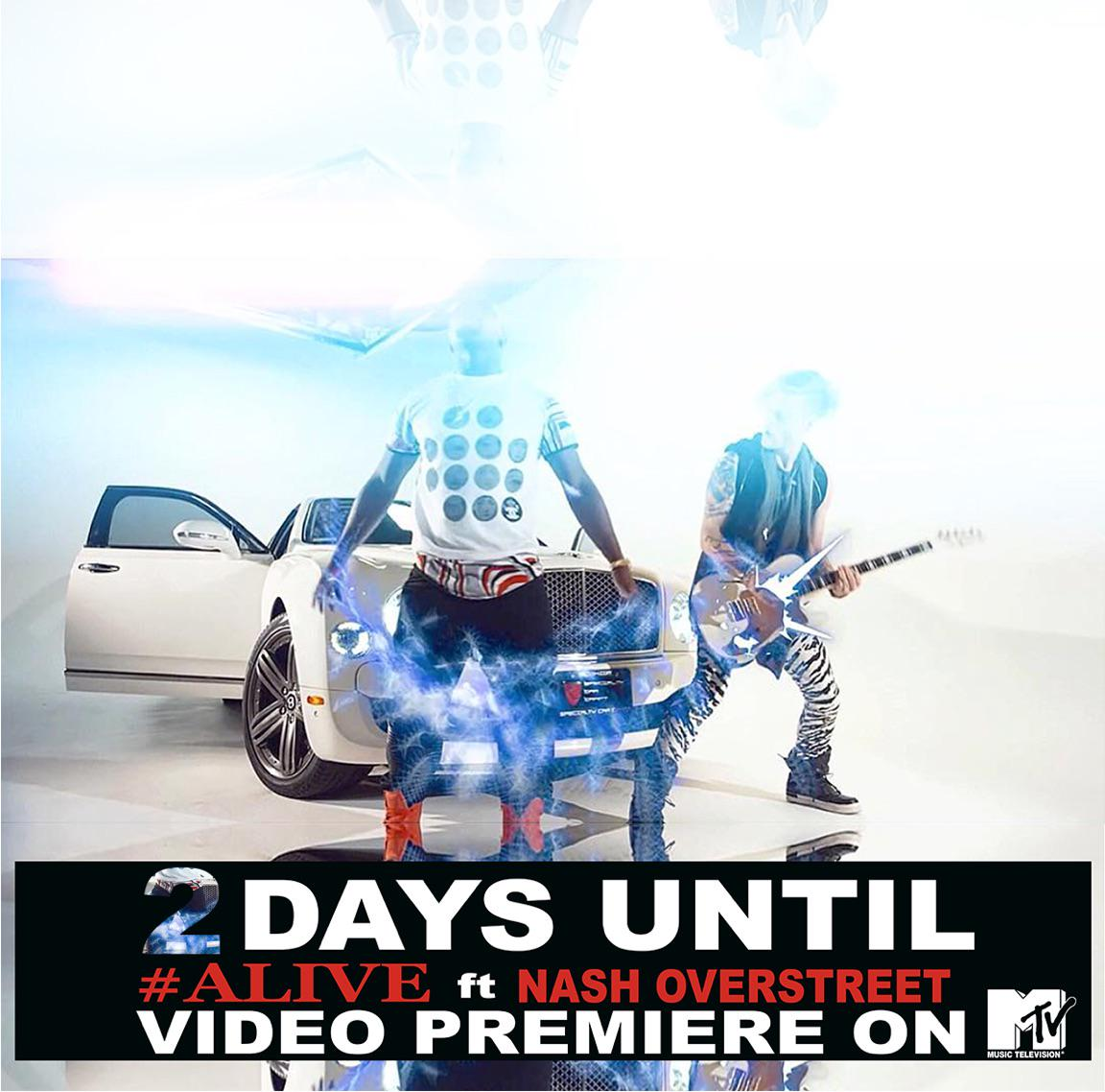 Catch my music video for #Alive on @MTV in 2 DAYS! Where you at, #iNation? #IyazIsBack @NashOverstreet #HotChelleRae http://t.co/gfqxgjqUeV