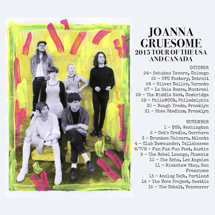.@JOANNAGRUESOME's US + Canada tour starts in about a month - if you're not excited about that, check yr pulse. http://t.co/rWklwVekR2