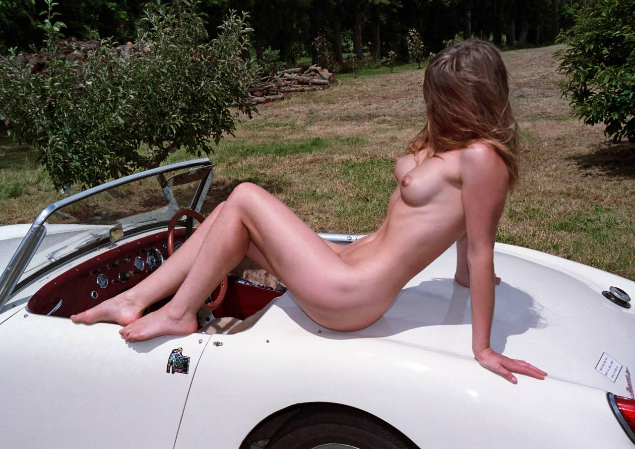 Nude Women With Cars 13