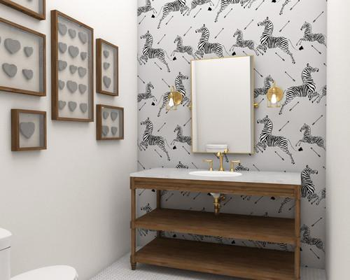 New on the #Blog: 7 #PowderRoom Statement #Wallpapers! #InteriorDesign @TheScalamandre #zebras http://t.co/3hUbl1xllW http://t.co/QsLQCCg27K