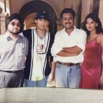 My friend Surjit Singh sends me this picture from what feels like a hundred years ago. #Tu #FirstMusicVideo