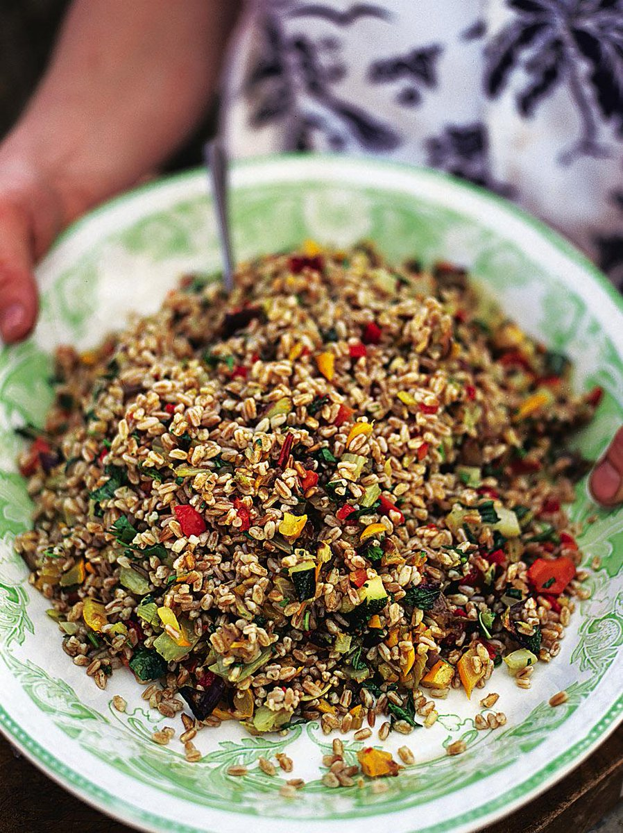 guys #recipeoftheday Roast vegetable & farro salad with tasty courgette, fennel & aubergine http://t.co/W66JwAQN1R http://t.co/SLhEoPn2e8