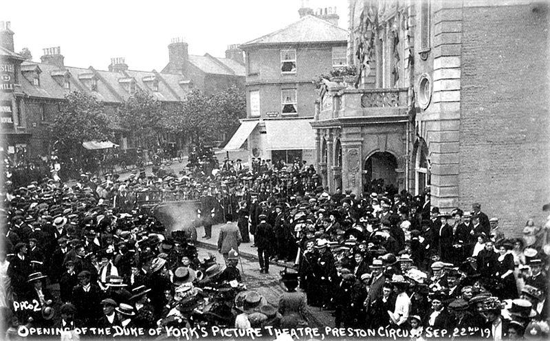 105 years today The Duke of York's opened for the first time. Over a century later, we're still standing. http://t.co/7gXMz7m5IF