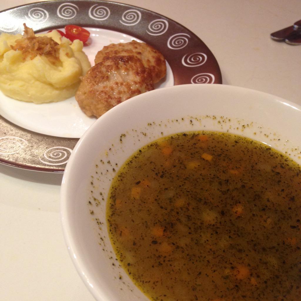 Суп пюре с фрикадельками с пошаговым фото