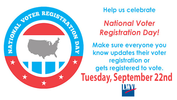 Happy National Voter Registration Day! Help #CelebrateNVRD & register to vote today! http://t.co/ClSP52Ol9S http://t.co/WZ0sEl0NZt