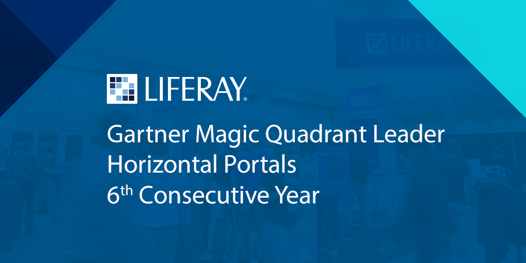 #Liferay is a Leader in the #Gartner Magic Quadrant for Horizontal Portals for a 6th year. http://t.co/szsWY95nig http://t.co/oyJUGJGpoP