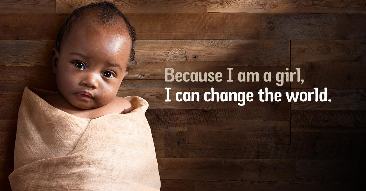 Because I am a girl, I can change the world! RT to spread this empowering message. http://t.co/kpIArm9Xoi http://t.co/bJsxllV94o