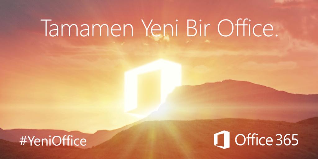 #Office2016 yayınlandı! #YeniOffice ile ilgili tüm detaylar blog yazımızda: http://t.co/1XYKqHr2HH http://t.co/YZR7ITRnSX