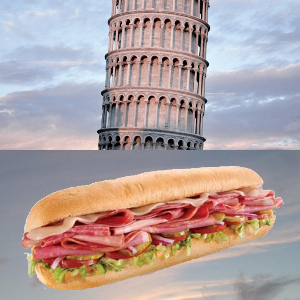 """Both are Italian Icons, but only one is at your local Subway! Catch the #ItalianHero before it says """"Ciao!"""" on 10/11! http://t.co/VCnHgGaKud"""