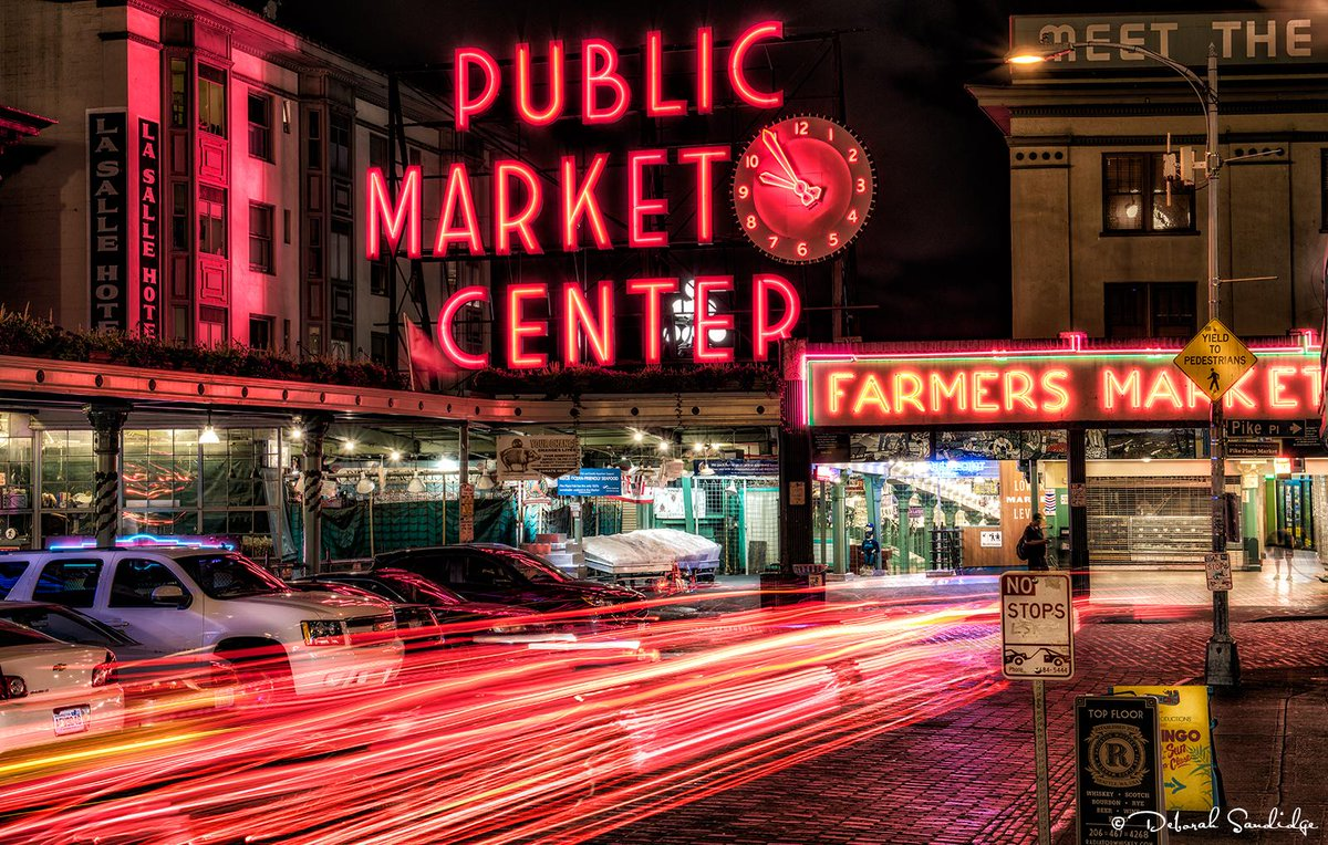 It's easy to be sleepless in #Seattle with so much going on! Photographed at Pike Place Market. #TravelTuesday http://t.co/pRm10I5wFT