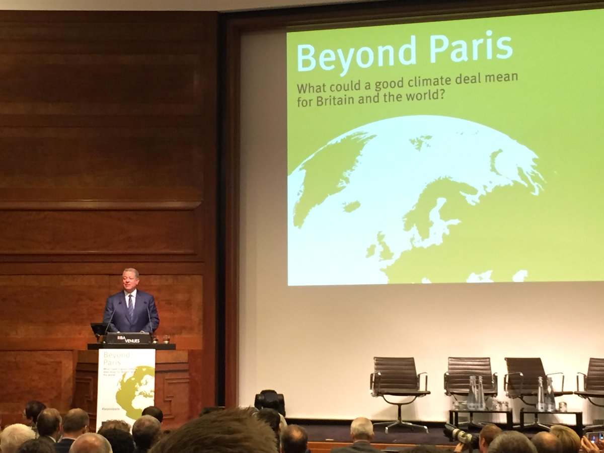 Al Gore: UK must face up to the 'Inconvenient Truth' with its climate strategy - http://t.co/HT4iSD5lVg #beyondparis http://t.co/STkusg5kVp