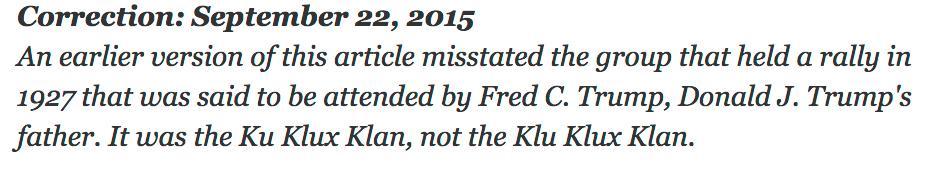 Important correction re. Trump's pedigree http://t.co/YLxbf2FQV2 http://t.co/5hhWAJZK5v