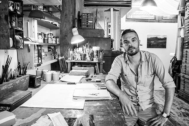 """""""Be okay with hearing 'No' as an answer"""": Advice from artist @OliverJeffers to other artists http://t.co/Qepq5z4LLS http://t.co/HgLc5hRFT6"""