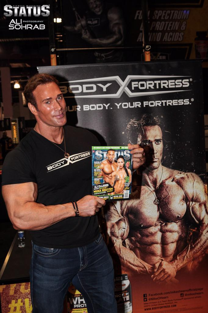 """Mike """"Titan"""" O'Hearn is making an impact on the fitness industry. Check out our expo coverage: http://t.co/sgKGwvDs6y http://t.co/VDsYaVLjFR"""