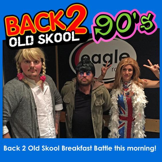 #Back2OldSkool Breakfast Battle 90s tunes are 'Gettin' Jiggy With It' or 'Wonderwall' RT = Jiggy or Fav = Wonder http://t.co/fosGjjAXFw