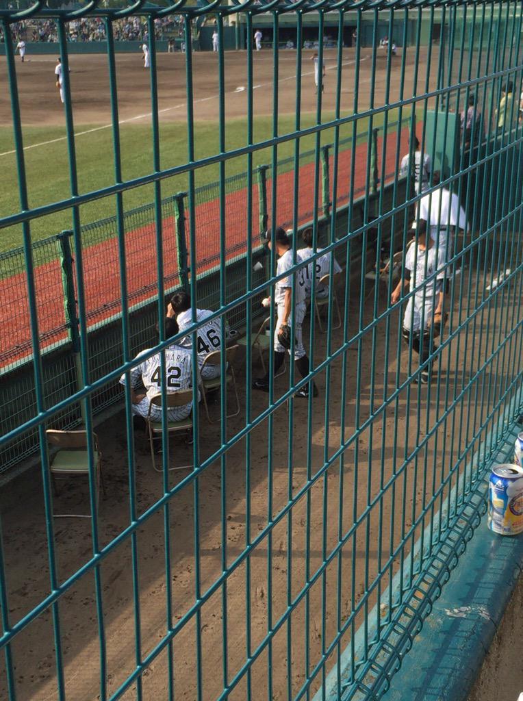 中村勝広の訃報をなぜかファンから聞かされた選手の皆さん。藤原「まじ?」 http://t.co/DOyJgDQzIu