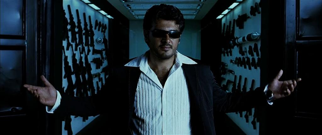 Pulitics :Why clashing with puli trailer ?  Thala :Nothing personal, just business.  #AllSetForThala56TitleBlast http://t.co/eejXyKD5nK