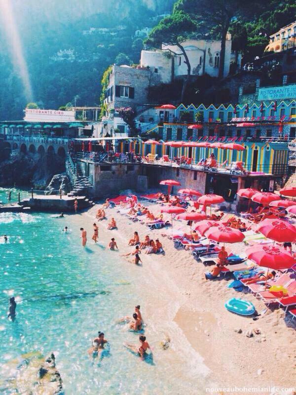 Isla de Capri, Italia. http://t.co/HkxMDu7JN5